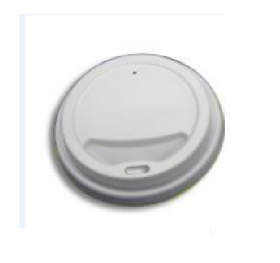 80mm CPLA Cup Lid - Green Day